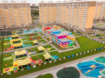 Общий вид на жилой комплекс Внуково 2017